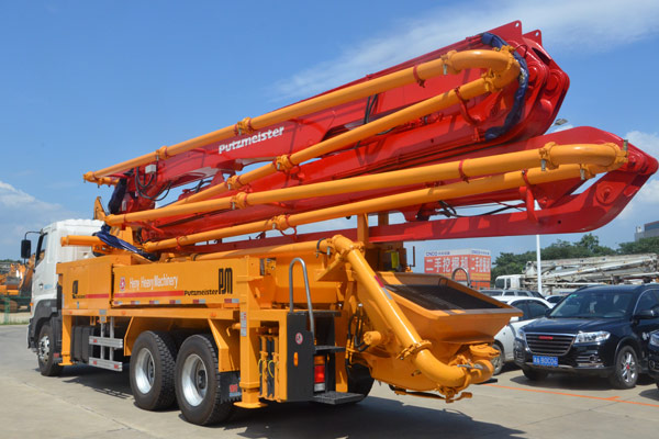 36Z Meter Industrial Concrete Boom Pump Truck With Hino700 Chassis