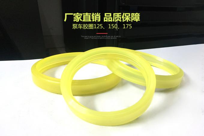 Trailer Mounted Concrete Pump Spare Parts , Polyurethane Rubber Ring 125 150 175
