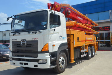 China 36Z Meter Industrial Concrete Boom Pump Truck With Hino700 Chassis supplier