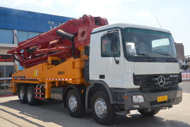 China Heavy Duty Sany Truck Mounted Concrete Boom Pump SY5401THB45 46m supplier