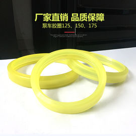 China Trailer Mounted Concrete Pump Spare Parts , Polyurethane Rubber Ring 125 150 175 supplier
