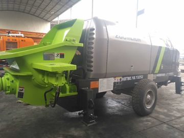 High Configuration Zoomlion Trailer Mounted Concrete Pump S.N.H171208
