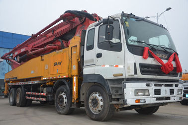 8*4 SY5385THB 52m Concrete Boom Truck Euro 3 Emission Standard Type
