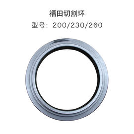 China Foton Wear Cutting Ring 200 230 260 High Hardness For Concrete Pump Trailer factory