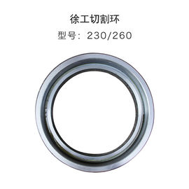 China Wear Resistant XCMG Concrete Pump Parts / Cutting Ring 230 260 Available factory